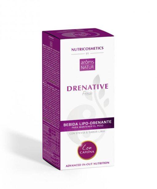 DRENATIVE FRESH CON CAFEÍNA NUTRICOSMETICS 500 ML